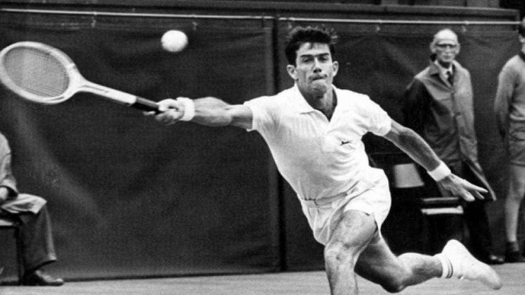 O australiano Ken Rosewall também conquistou oito títulos de Grand Slam