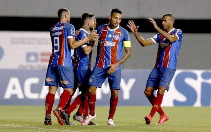O Bahia assumiu a vice-liderança do Campeonato Brasileiro de 2020 na 3ª rodada da competição. Com 9 pontos, o Tricolor Baiano tinha o mesmo número de pontos que o líder Atlético-MG. O Bahia terminou o campeonato na 14ª colocação.