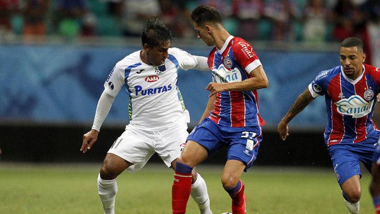 No ano seguinte, o Bahia deixou a vaga para a segunda fase da Sul-Americana cair na própria Arena Fonte Nova. Os uruguaios do Liverpool venceram por 1 a 0, em Salvador, e conservaram o resultado sem gols no Uruguai