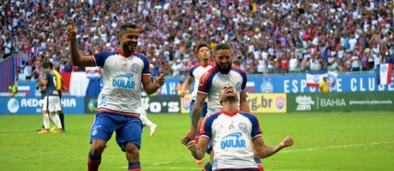 O Bahia tem seu elenco avaliado em torno de R$ 154 milhões