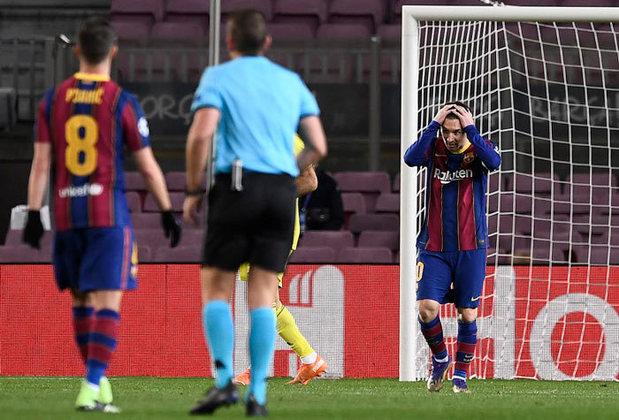 O Barcelona avançou para as oitavas de final da Champions League. Entretanto a derrota de 3 a 0 para a Juventus em casa no meio de semana apenas acentuou as deficiências de um time que o técnico Ronald Koeman ainda não conseguiu montar.