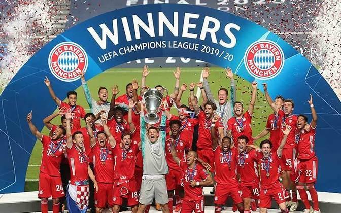 O Bayern chegou para esta disputa por ter ganho a Champions League.