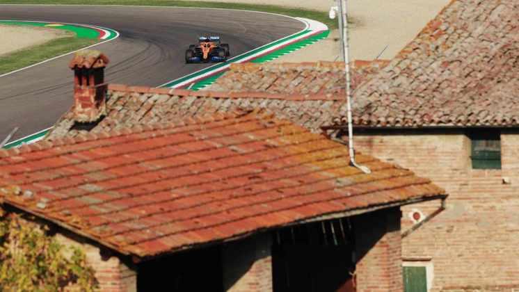 O belo circuito de Ímola volta ao calendário da Fórmula 1 após 14 anos