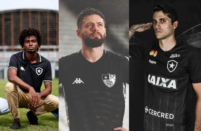 O Botafogo lançou o novo segundo uniforme, de cor preta, na noite da última quinta-feira. O LANCE! preparou uma galeria mostrando as últimas 15 camisas alternativas do Glorioso. Confira!