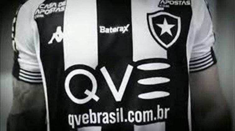O Botafogo selou um acordo com a QVE Brasil, empresa do ramo de tecnologia e saúde, para ser a patrocinadora master do clube até fevereiro de 2021. Os valores do acerto não foram divulgados, mas o site