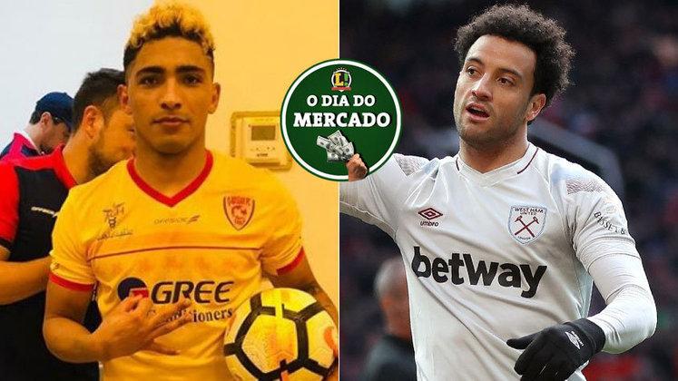 O Botafogo tem reforço do Oriente Médio a caminho, Felipe Anderson explica a saída do West Ham e outros rumores ainda agitam o mercado.
