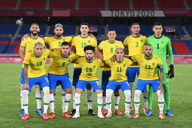 O Brasil estreou com o pé direito nos Jogos Olímpicos nesta quinta-feira. Com grande atuação de Richarlison, que marcou três gols, o time de André Jardine venceu a Alemanha por 4 a 2. A defesa, porém, falhou na etapa final. Veja as notas.