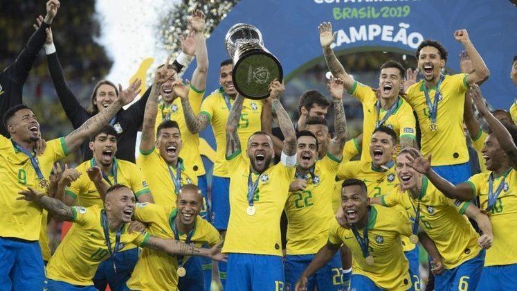 O Brasil foi campeão da Copa América de 2019, no Maraca, após vencer o Peru por 3 a 1, no tempo regulamentar.