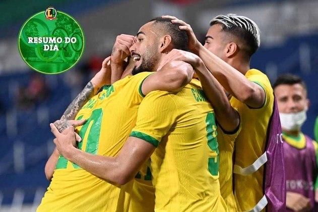 O Brasil teve um bom dia em Tóquio. Os atletas brasileiros conseguiram bons resultados, como vagas em finais na natação, atletismo, vela, boxe, vôlei e futebol, além de uma medalha inédita no tênis. Confira o resumo do LANCE!.
