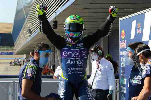O brasileiro da Avintia garantiu a vitória (Foto: Avintia)