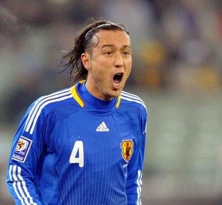 O brasileiro Marcus Túlio Tanaka defendeu a seleção japonesa principal entre 2006 e 2010.
