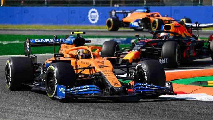 O britânico da McLaren não saiu satisfeito das primeiras sessões de treinos na Itália