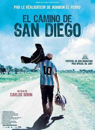 O CAMINHO DE SAN DIEGO (2006) - O filme de ficção mostra um fã incondicional de Maradona que peregrina para encontrar o ídolo e encontrar uma raiz que se parece com a silhueta dele.