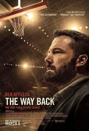 O Caminho de Volta (2020) - O filme é bom. Ben Affleck é um ex-jogador que torna-se treinador de um time de basquete colegial. Problemas de relacionamento e, até, com vícios, fazem sua carreira ir para os ares. Assim que engata na função de técnico, a situação muda, enquanto ele tenta ajustar sua vida