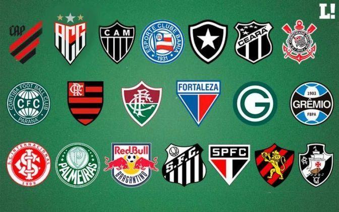 O Campeonato Brasileiro terá início neste final de semana. Com isso, o LANCE! mostra os palpites da redação, principalmente para os candidatos ao título, Libertadores e o temido rebaixamento para a Série B do ano que vem. Veja como ficou a posição do seu time de coração!