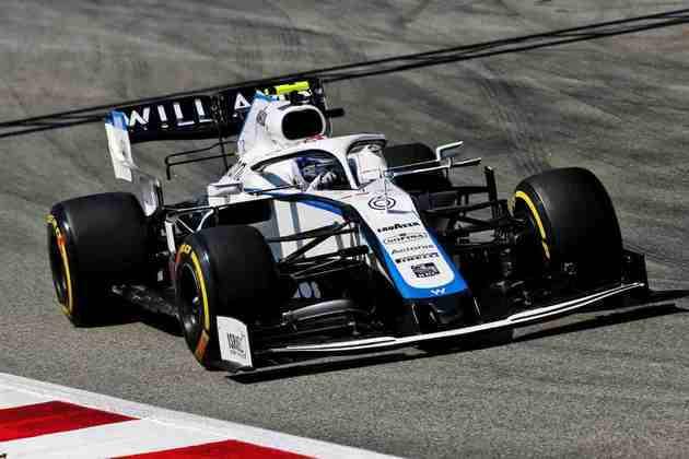 O canadense reclamou muito do balanço do carro nas primeiras voltas da prova