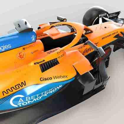 O carro será guiado por Lando Norris, que faz sua terceira temporada pelo time, e Daniel Ricciardo, que faz a primeira temporada com a equipe