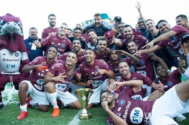 O Caxias conquistou o primeiro turno do Campeonato Gaúcho sobre o Grêmio e já estava garantido na final do Estadual.