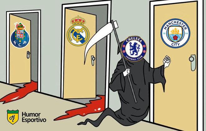 O Chelsea venceu o Real Madrid por 2 a 0 e garantiu vaga na decisão em Istambul contra o Manchester City. Nas redes sociais, torcedores exaltaram Kanté, relembraram CR7 e ironizaram Hazard. Confira! (Por Humor Esportivo)