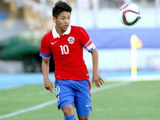 O chileno Marcelo Allende tem 21 anos e veste a camisa do Montevideo City Torque, do Uruguai.