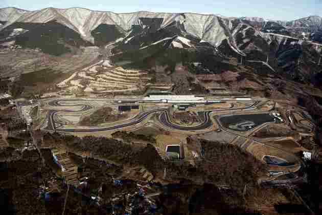 O circuito de Fuji, no Japão, passou por uma remodelação desenhada por Tilke em 2005. A pista recebeu a F1 em 2007 e 2008