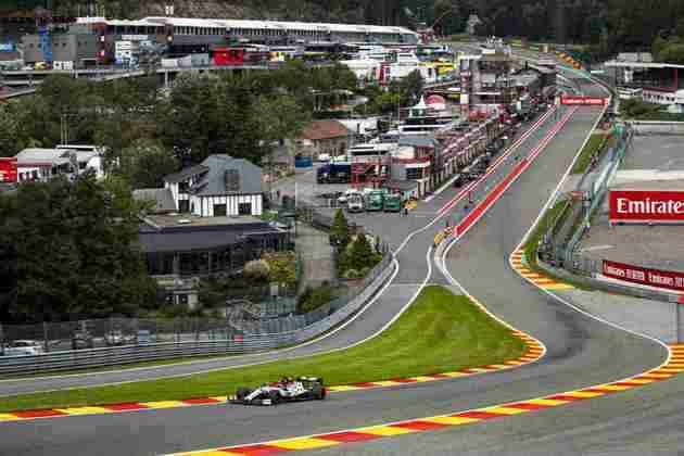 O circuito de Spa é um dos preferidos do finlandês, com três vitórias conquistadas no local
