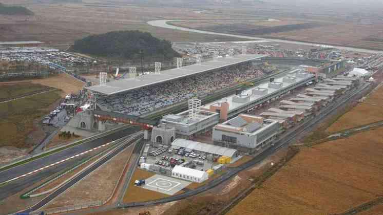O circuito de Yeongam, na Coreia do Sul, não deixou muitas saudades na Fórmula 1, especialmente pelos problemas estruturais e localização