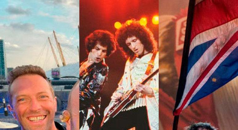 O Coldplay é mais uma atração confirmada no Rock in Rio 2022. Novamente os britânicos estarão presentes no festival, que também já contou com shows memoráveis de outros grupos. Relembre bandas que fizeram sucesso no RIR!