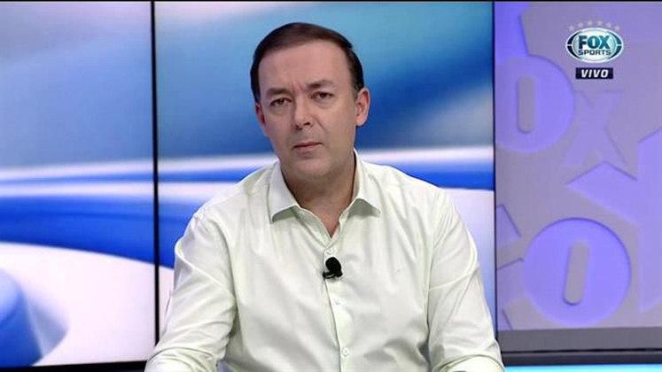 O comentarista Leandro Quesada deixou o Fox Sports.
