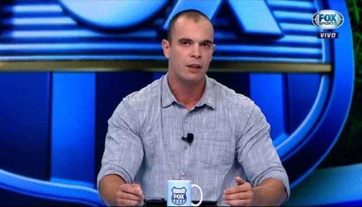 """O comentarista Maurício Borges, o """"Mano"""", deixou o Fox Sports e agora é comentarista do SBT."""
