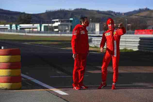 O competidor foi o quinto a participar dos testes privados da equipe de Maranello