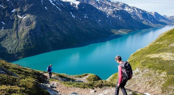 """Os noruegueses abraçam o conceito de friluftsliv, que pode ser traduzido como """"vida a céu aberto"""""""