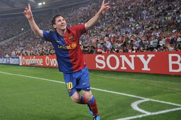 O confronto contra o Manchester United de Cristiano Ronaldo na final da Champions League 2008-2009 foi um dos jogos marcantes da história de Messi com a camisa do Barcelona. Uma das primeiras demonstrações daquele que conquistaria tudo pelo clube catalão e se tornaria um dos maiores atletas do mundo.