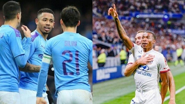 O confronto entre Lyon x Manchester City está marcado para a próxima sexta, às 16h (horário de Brasília), em Lisboa, no estádio José Alvalade.