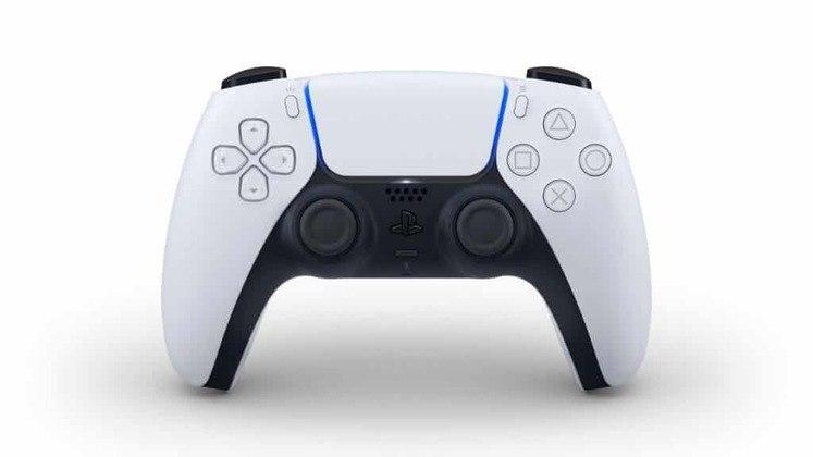 O controle DualSense do PlayStation 5 mudou completamente o visual em relação ao DualShock, presente nos consoles PlayStation 2, 3 e 4.