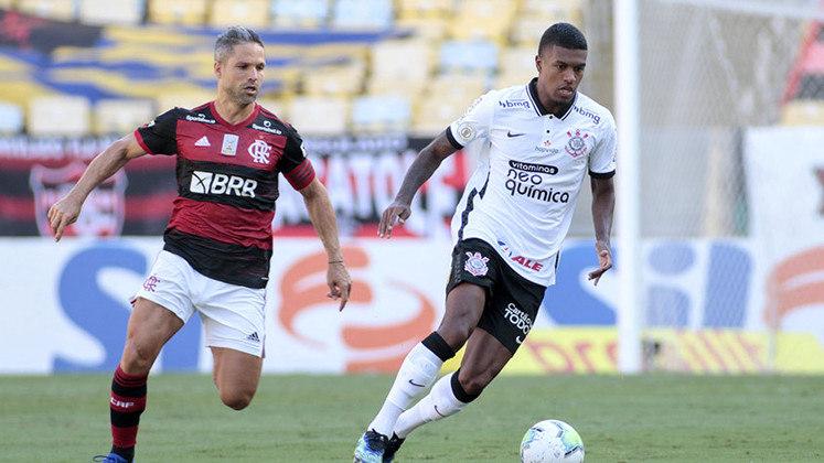 O Corinthians foi derrotado pelo Flamengo por 2 a 1, no Maracanã, neste domingo, pela 36ª rodada do Brasileirão-2020, mas mesmo assim o time teve dois destaques na partida: Léo Natel e Araos, responsáveis pelo gol corintiano. Veja as notas dos jogadores do Timão na galeria a seguir: