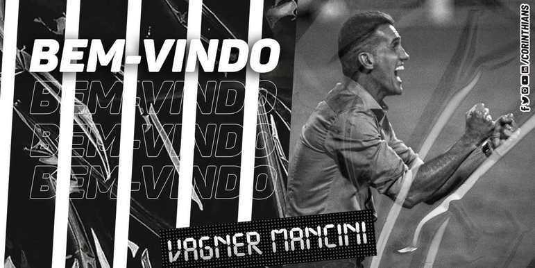 O Corinthians oficializou a chegada do técnico Vágner Mancini em suas redes sociais. Ele assinou contrato até dezembro de 2021 e vai comandar a equipe no próximo duelo do Timão, contra o Athletico-PR. A apresentação de Mancini será na próxima terça-feira (13).
