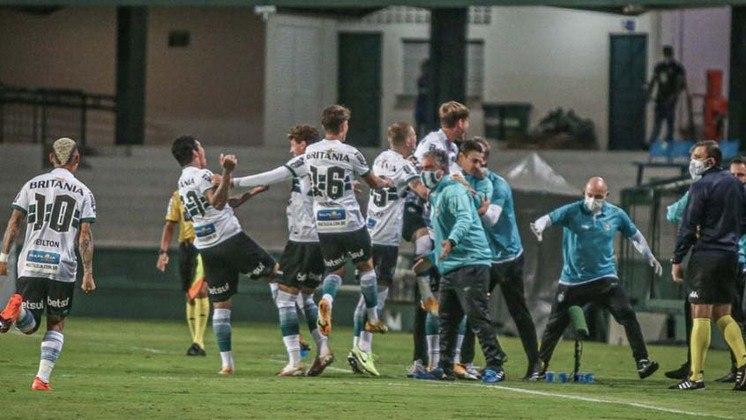 O Coritiba está na fila há 35 anos. O último título brasileiro do clube foi em 1985.