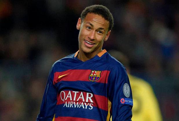 O craque depois fez história na Europa com a camisa do Barcelona.