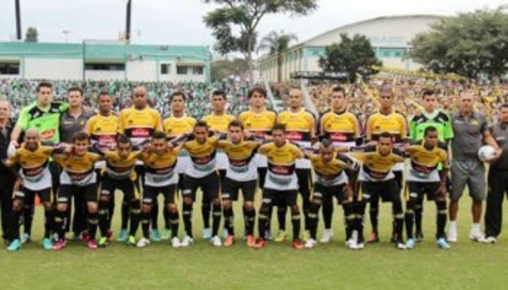 O Criciúma foi rebaixado para a divisão de baixo do Campeonato Catarinense pela primeira vez em 2021.