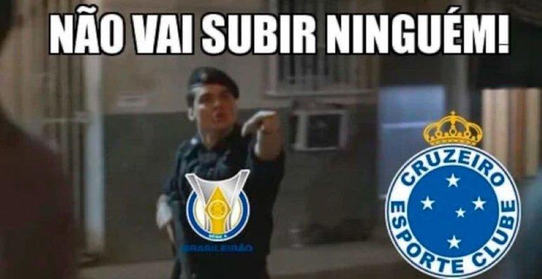 O Cruzeiro é o primeiro time grande a não retornar à elite no ano seguinte ao rebaixamento na era dos pontos corridos
