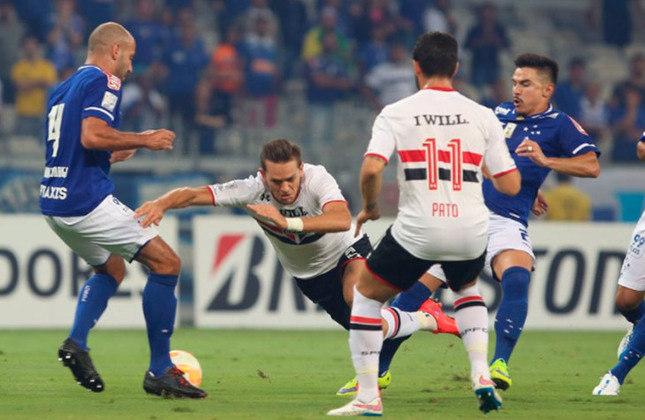 O Cruzeiro eliminou o São Paulo, nas penalidades, nas oitavas de final da Copa Libertadores de 2015.