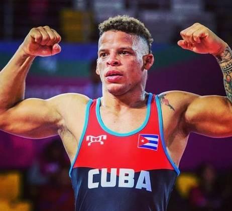 O cubano Ismael Borrero, da luta greco-romana, teve COVID-19.