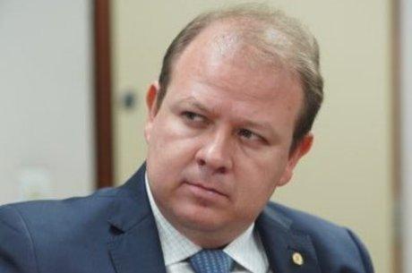 O deputado Luiz Carlos, líder em despesas na pandemia