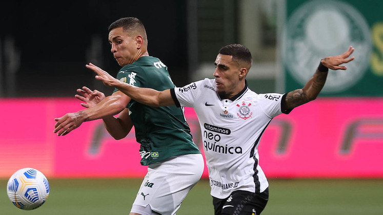 O Dérbi entre Palmeiras e Corinthians, válido pela terceira rodada do Campeonato Brasileiro 2021, terminou 1 a 1. Veja as notas do LANCE! para os jogadores do Timão. (feito por Rafael Marson)