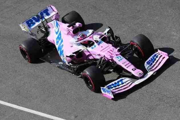 O destaque do mexicano no treino, porém, foi o toque em Kimi Räikkönen quando saía dos boxes