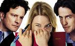 O Diário de Bridget Jones: a comédia romântica que marcou gerações chegava às telonas 20 anos atrás. Com Renée Zellweger, Colin Firth e Hugh Grant, o longa acompanha um triângulo amoroso de uma jovem um tanto quanto peculiar