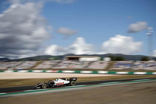 O dinamarquês ficou na frente do companheiro de equipe, Romain Grosjean, no circuito português