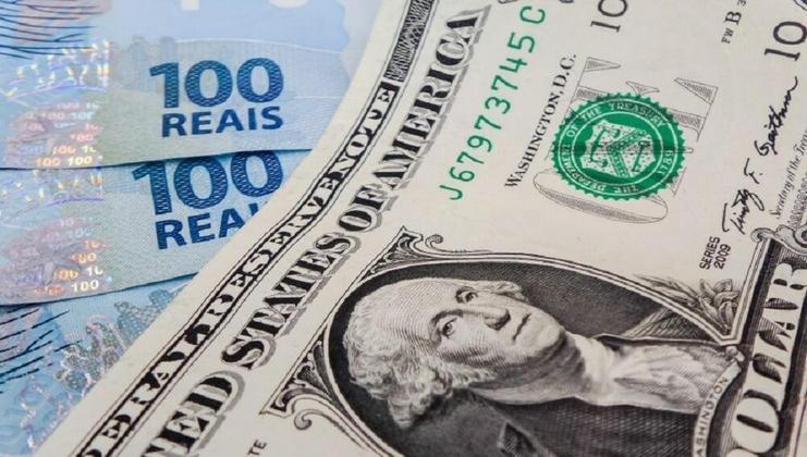 O dólar estava cotado em apenas R$2,07