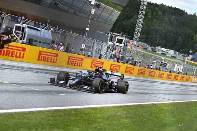 O domínio de Lewis Hamilton foi enorme no GP da Estíria e ele não foi ameaçado durante a prova